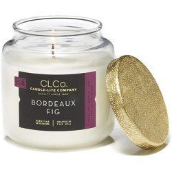 Candle-lite CLCo Candle Jar luxury scented candle 14 oz 396 g - No. 58 Bordeaux Fig