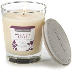 Candle-lite Essential Elements Glass Natural Scented Candle 9 oz 255 g - Wild Fig & Tobac
