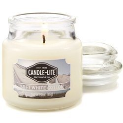 Candle-lite Everyday Collection Small Scented Candle 3 oz 85 g - Soft White Cotton